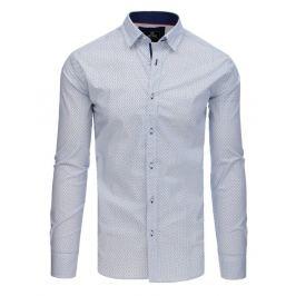 BASIC Košile s dlouhým rukávem - bílá (dx1771) Velikost: M