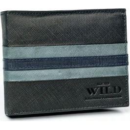 ALWAYS WILD pánská peněženka N992-SF BLACK-BLUE Velikost: univerzální