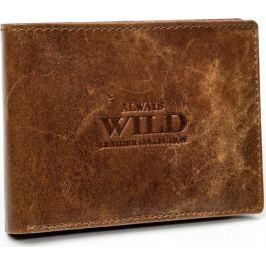 ALWAYS WILD pánská peněženka N951-CRU COGNAC Velikost: univerzální