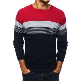 BASIC Barevný pánský svetr  (wx1333) Velikost: M