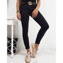 BASIC Dámské džíny LIBERO - černá (uy0203) Velikost: XS