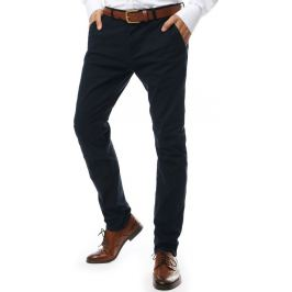 BASIC Tmavě šedé společenské kalhoty (ux2132) Velikost: 28