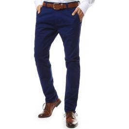BASIC Tmavě modré společenské kalhoty (ux2133) Velikost: 28