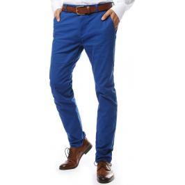 BASIC Modré společenské kalhoty (ux2139) Velikost: 28
