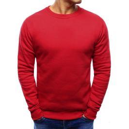 Basic mikina - červená (bx4198) Velikost: M