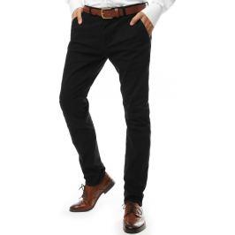 BASIC Společenské kalhoty - černá (ux2138) Velikost: 28