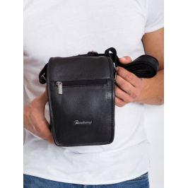 Pierre Andreus černá kožená taška (5047-NDM-PA BLACK ) Velikost: univerzální