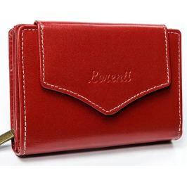 Lorenti červená kožená peněženka RD-01-BAL RED Velikost: univerzální