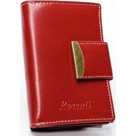 Lorenti červená kožená peněženka RD-04-BAL RED Velikost: univerzální