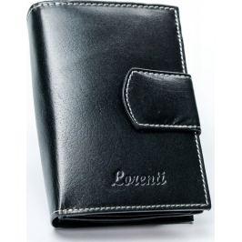 Lorenti černá kožená peněženka RD-05-BAL BLACK Velikost: univerzální