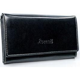 Lorenti černá kožená peněženka RD-08-BAL BLACK Velikost: univerzální