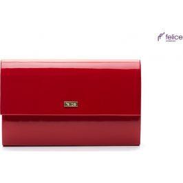 Červené psaníčko FELICE (F13 RED SHINY) Velikost: univerzální