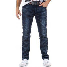 BASIC Pánské námořnické džíny (ux0323) velikost: 30, odstíny barev: modrá