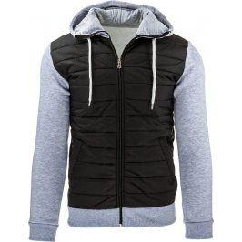 BASIC Pánská bunda černá (tx1263) velikost: 2XL, odstíny barev: černá