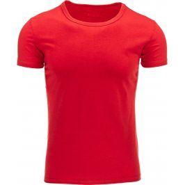 BASIC Pánské červené tričko (rx0009) velikost: 2XL, odstíny barev: červená