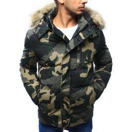 BASIC Pánská zimní vojenská bunda (tx2011) velikost: 2XL, odstíny barev: zelená