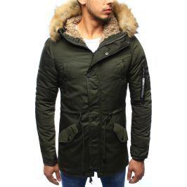 BASIC Pánská zimní bunda (tx2016) velikost: 3XL, odstíny barev: zelená