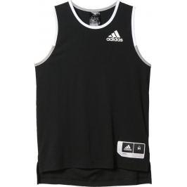 Adidas Basketbalový dres (AZ9563) velikost: 128, odstíny barev: černá