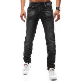 BASIC Pánské černé džíny (ux0914) velikost: 30, odstíny barev: černá