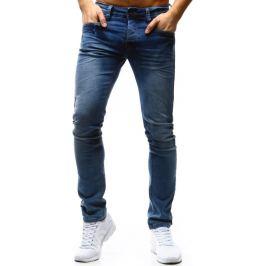 BASIC Pánské modré džíny (ux0370) velikost: 28, odstíny barev: modrá