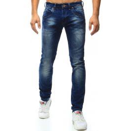 BASIC Pánské modré džíny (ux0995) velikost: 29, odstíny barev: modrá
