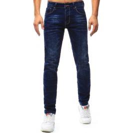 BASIC Pánské tmavě modré džíny (ux1010) Velikost: 28