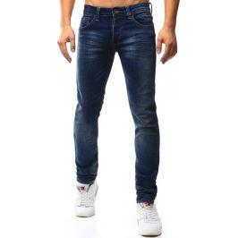 BASIC Pánské modré džíny (ux1011) velikost: 28, odstíny barev: modrá