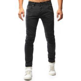 BASIC Pánské šedé džíny (ux1020) velikost: 28, odstíny barev: šedá
