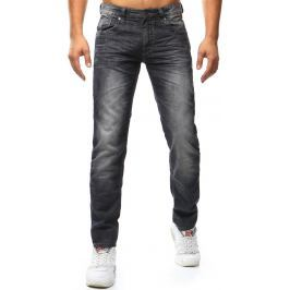 BASIC Pánské černé džíny (ux1023) velikost: 30, odstíny barev: černá