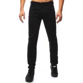 BASIC Pánské černé džíny (ux1030) velikost: 36, odstíny barev: černá