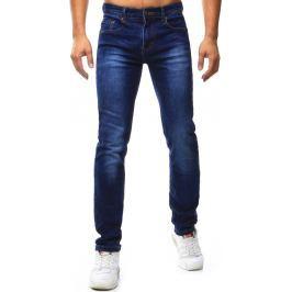 BASIC Pánské modré džíny (ux1032) velikost: 29, odstíny barev: modrá