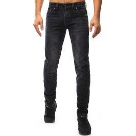 BASIC Pánské černé džíny (ux1042) velikost: 30, odstíny barev: černá