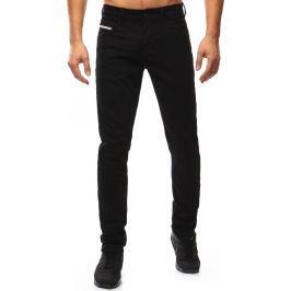 BASIC Pánské černé džíny (ux1043) velikost: 30, odstíny barev: černá