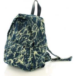 VEROSTILO Prostorný batoh modrý CHLOE TESSUTO (pl25d) Velikost: univerzální