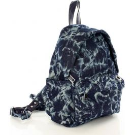 VEROSTILO Prostorný batoh námořnická modř CHLOE TESSUTO (pl25b) Velikost: univerzální