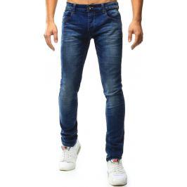 BASIC Pánské modré džíny (ux1012) velikost: 28, odstíny barev: modrá