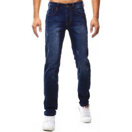 BASIC Pánské modré džíny (ux1040) velikost: 29, odstíny barev: modrá
