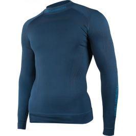 BRUBECK termoaktivní tričko Thermo M LS13040 velikost: M, odstíny barev: modrá