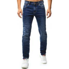 BASIC Pánské modré džíny (ux1016) velikost: 30, odstíny barev: modrá