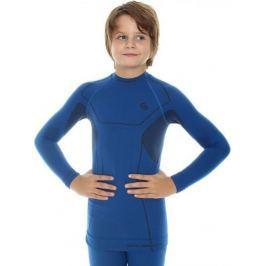 BRUBECK termoaktivní tričko Thermo Kids LS11460 velikost: 92/98, odstíny barev: modrá