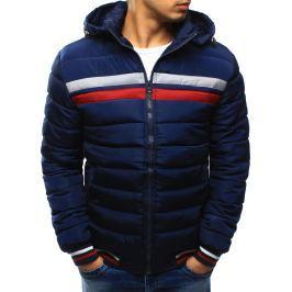 BASIC Pánská zimní bunda prošívaná (tx2031) velikost: 2XL, odstíny barev: modrá
