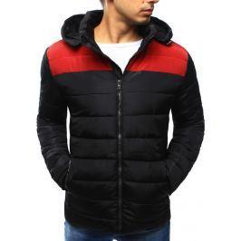 BASIC Pánská zimní bunda prošívaná (tx2032) velikost: M, odstíny barev: černá