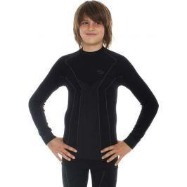 BRUBECK termoaktivní tričko Thermo Junior LS11500 velikost: 140/146, odstíny barev: černá