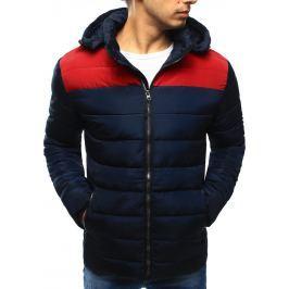 BASIC Pánská zimní bunda (tx2059) velikost: M, odstíny barev: modrá
