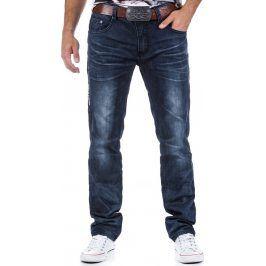 BASIC Pánské námořnické džíny  (ux0331) velikost: 30, odstíny barev: modrá