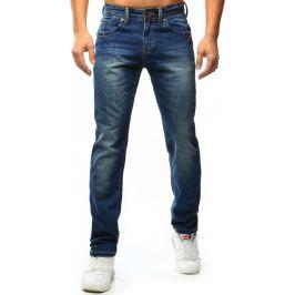 BASIC Pánské modré džíny (ux1058) velikost: 29, odstíny barev: modrá