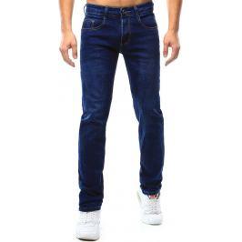 BASIC Klasické modré pánské džíny (ux1061) velikost: 30, odstíny barev: modrá