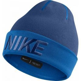 Nike Modrá zimní čepice (851549-431) velikost: univerzální, odstíny barev: modrá