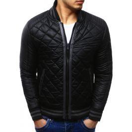 BASIC Pánská černá bunda (tx1037) velikost: S, odstíny barev: černá