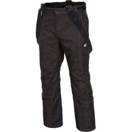 4F Pánské černé lyžařské kalhoty (H4Z17-SPMN001BLK) velikost: L, odstíny barev: černá